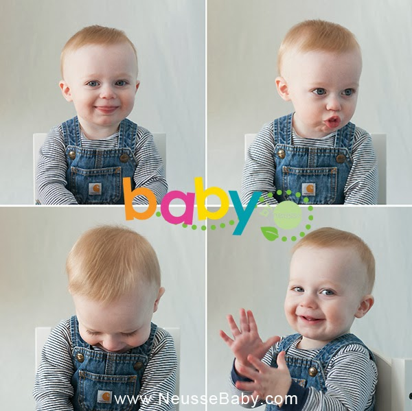 Baby 1st Year Collection with 9 months milestone photo shoot by Neusse Photography