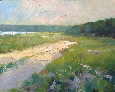 cape cod landscape oil painting by steve allrich