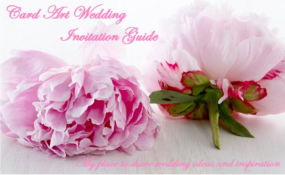 Card Art Wedding Invitation Guide