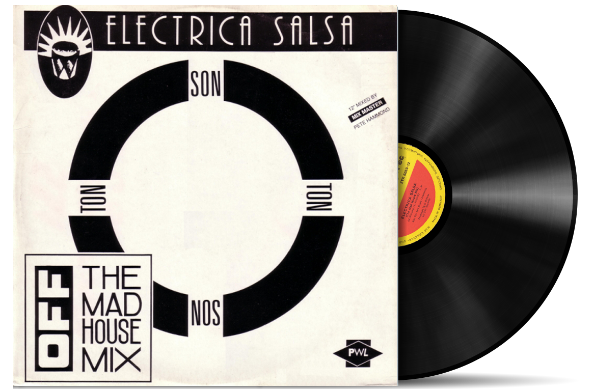 Music off electrica salsa the mad house mix vinyl 12 for House music 1988