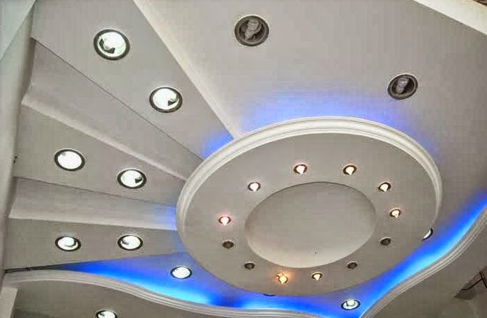 Fantastique artisanat juillet 2014 for Modele de plafond avec spot