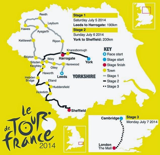 CICLISMO EN RUTA-Tour de Francia 2014