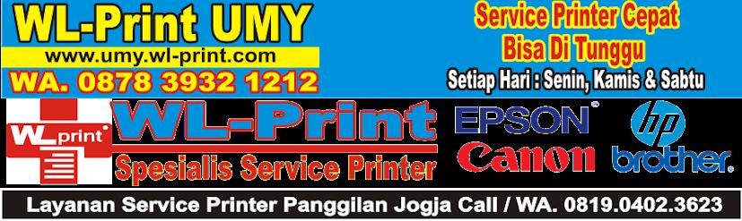 WL-Print UMY | Spesialis Jasa Service Printer & Rental, Sewa Printer | WA. 0878.3932.1212