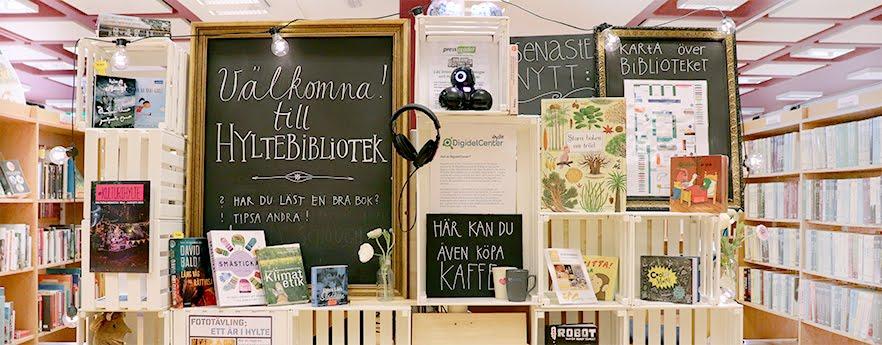 Hyltebibliotekens blogg