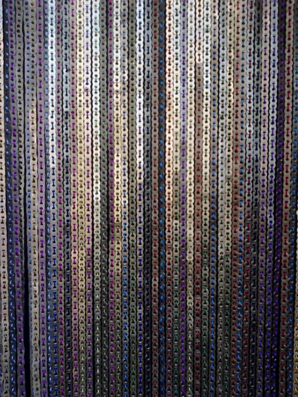 cortinas hechas de aluminio reciclado
