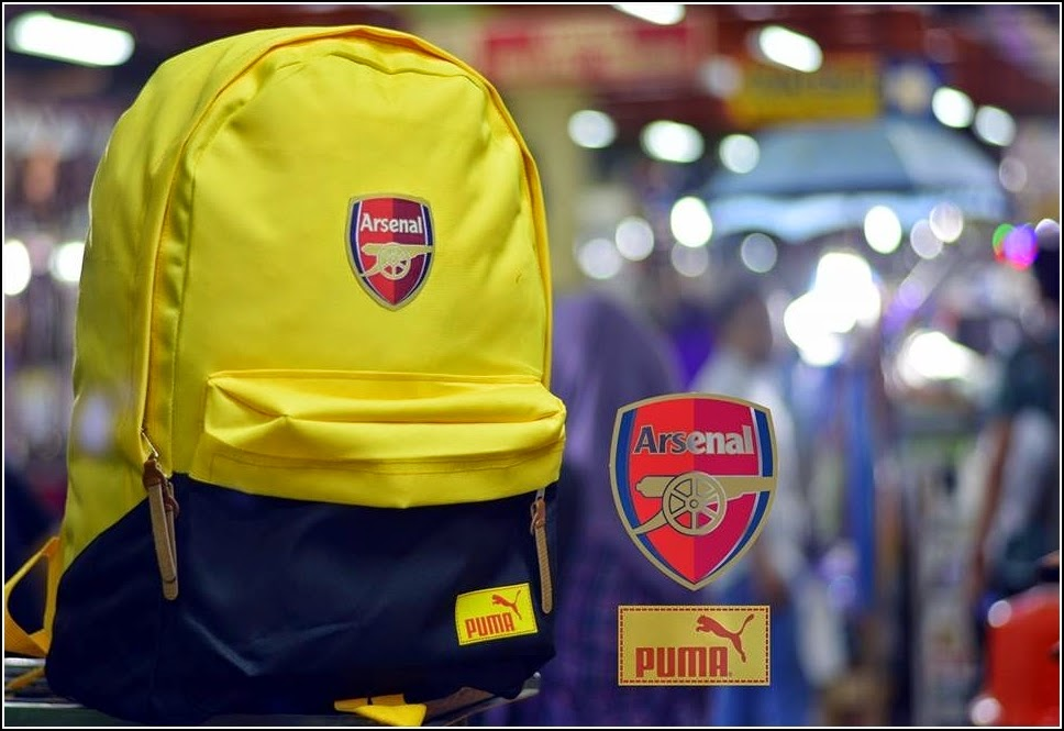 New Backpack atau Tas Bola Type D Arsenal