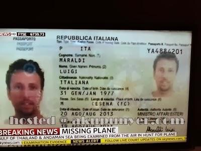 gambar pemegang pasport palsu dikenalpasti, gambar pemegang pasport palsu mh370, pemegang pasport palsu pesawat MAS yang hilang, gambar maraldi lugi, pemegang pasport maraldi luigi, maraldi luigi sebenar