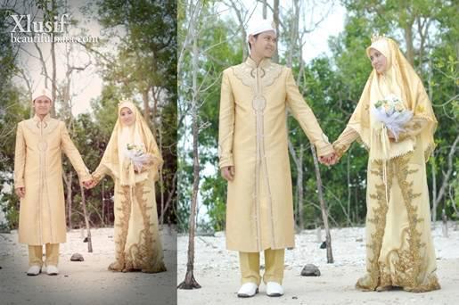 baju pengantin muslimah bertudung labuh apexwallpapers
