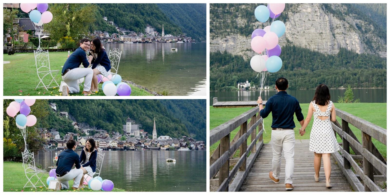 surprise marriage proposal in hallstatt wedding planner salzburg