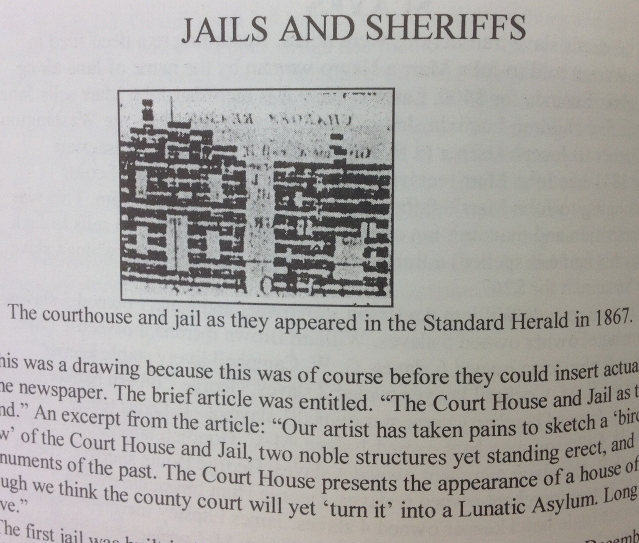 Johnson County - Western Missouri History: 1847 First jail and other ...