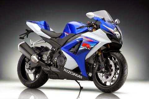 Gambar Motor Balap warna biru