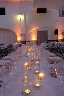 Decoración bodas Valencia botes velas