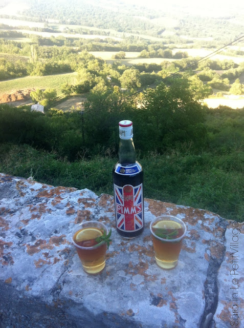 Pimms in Provence
