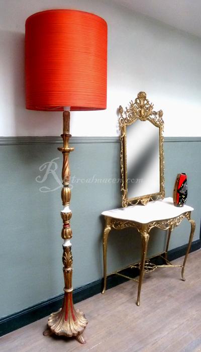 Retroalmacen tienda online de antig edades vintage y decoraci n lote grananticvario - Lampara de pie vintage ...