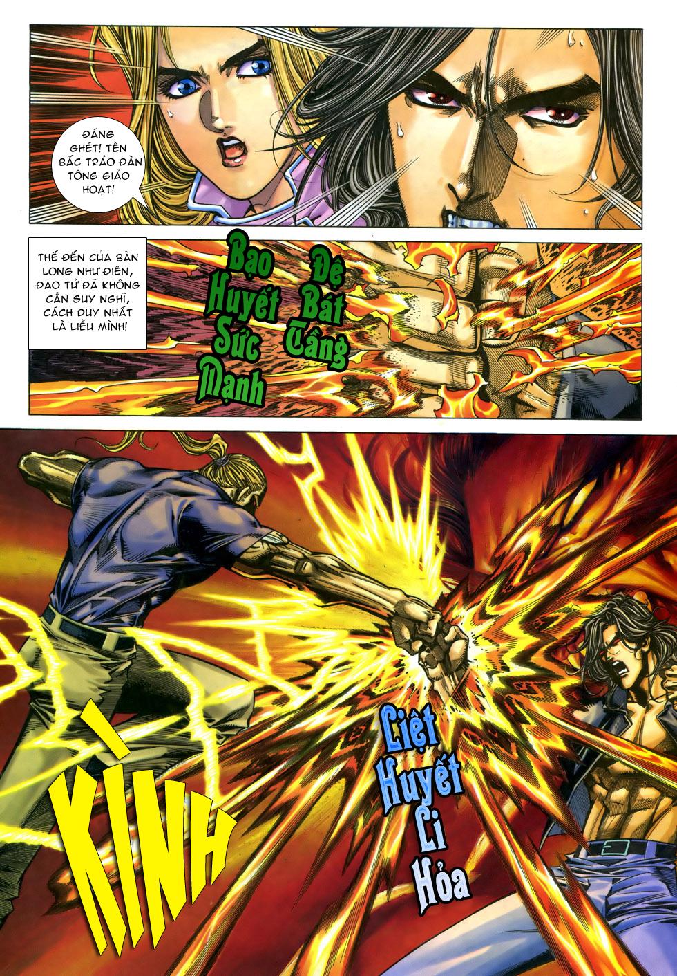 X Bạo Tộc chap 33 - Trang 7