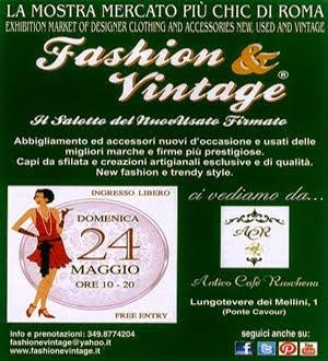 Fashion & Vintage - 24 Maggio