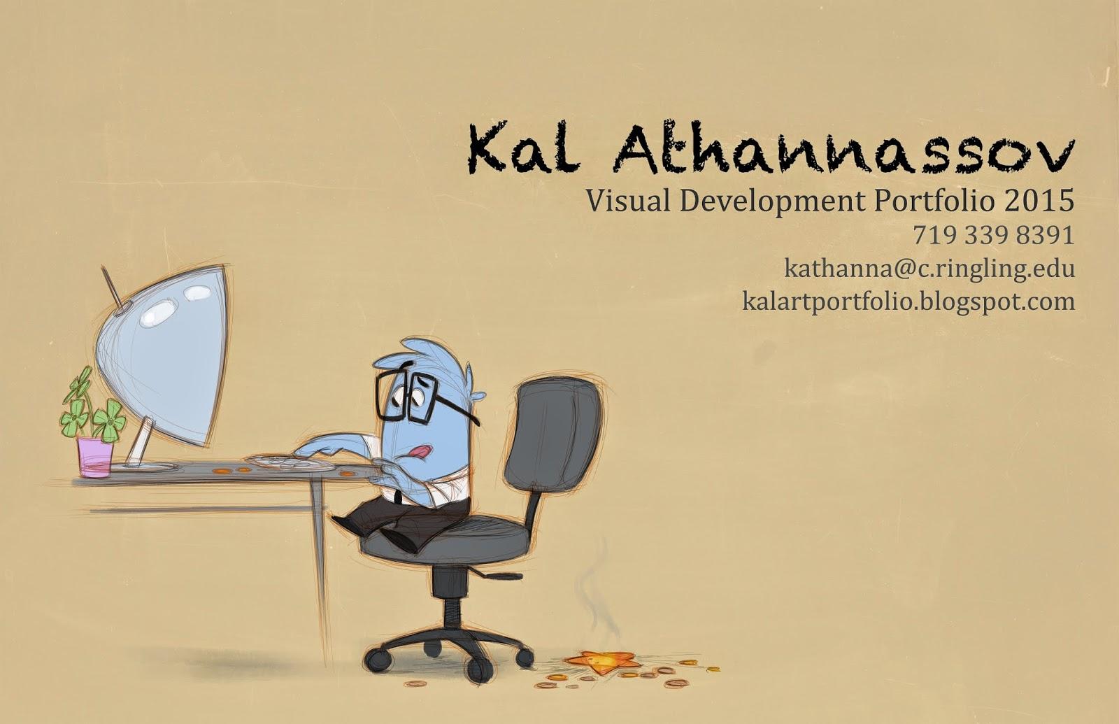 Kal Athannassov Visual Development Portfolio 15