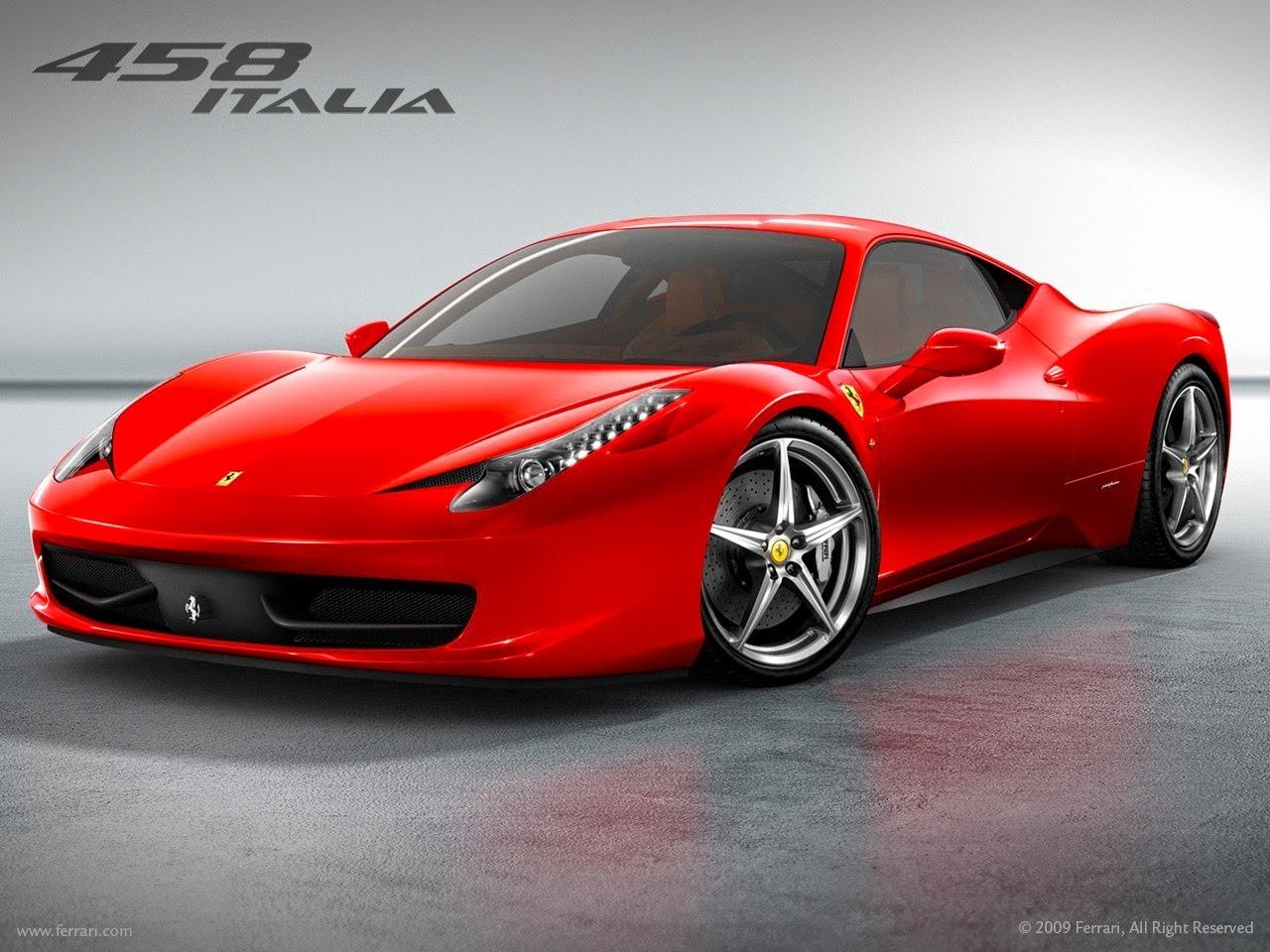 Gambar Mobil Sport Ferrari 458 Italia