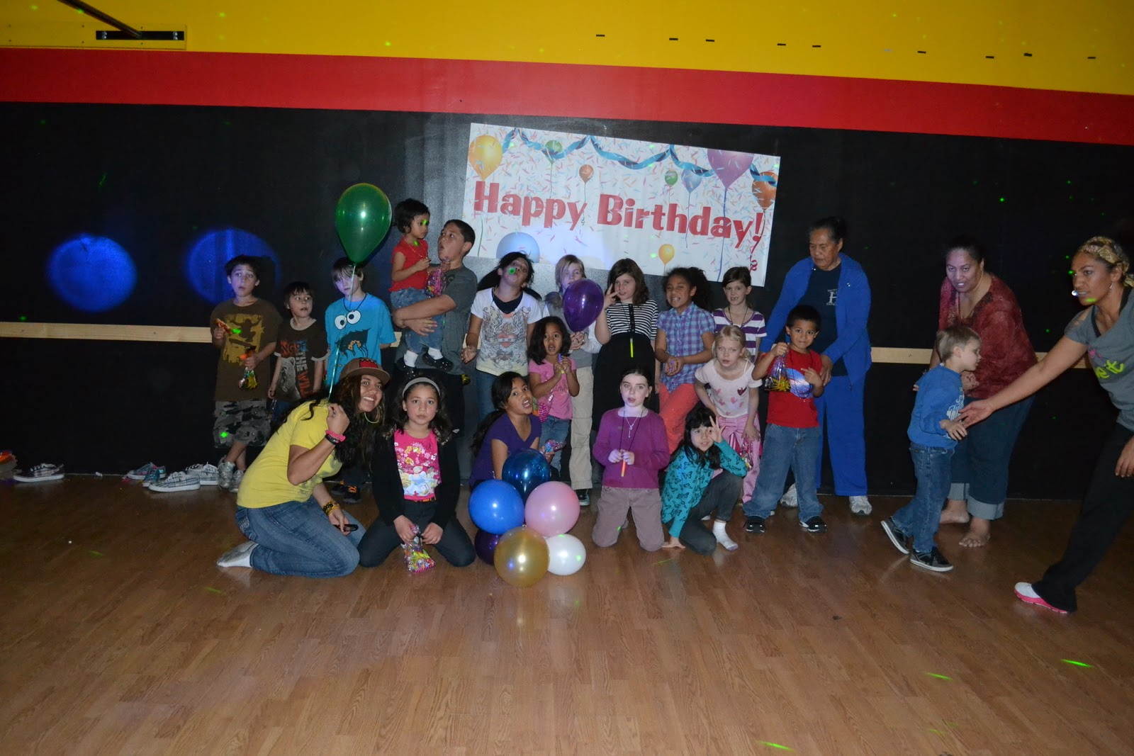 zumbatomic birthday or any party