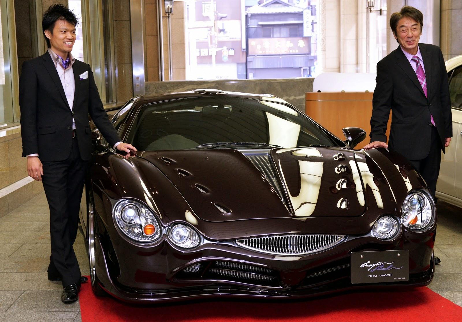 Mitsuoka Final Orochi, Sports Cars, Yamata no Orochi, Mitsuoka Motors, Mitsuoka Orochi, Auto Industry, Orochi, Fashion-Super Car, Japan, Tokyo, Luxury Cars, Akio Mitsuoka, Car Designer, Takanori Aoki,