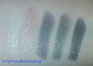 Ombres Perlees De Chanel Palette swatches