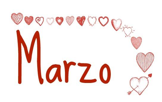 Marzo I love