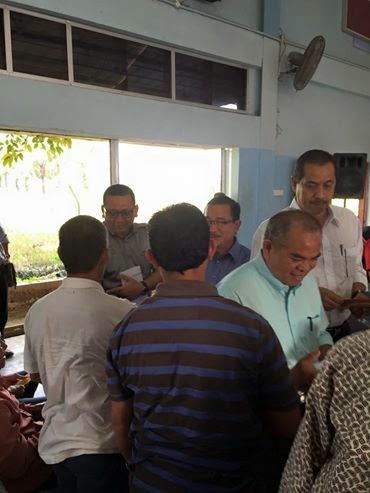Majlis Penyampaian Bantuan Wang Ehsan Kerajaan Persekutuan Kerajaan Negeri Kepada Mangsa Banjir Kerian
