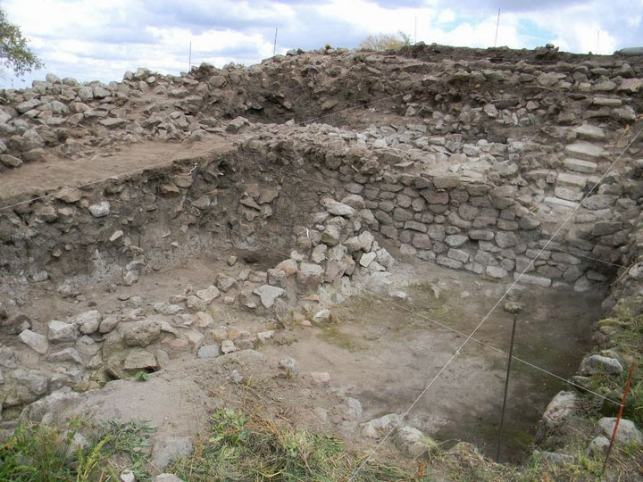 Archaeologists explore ancient ceremonial centre in western Mexico