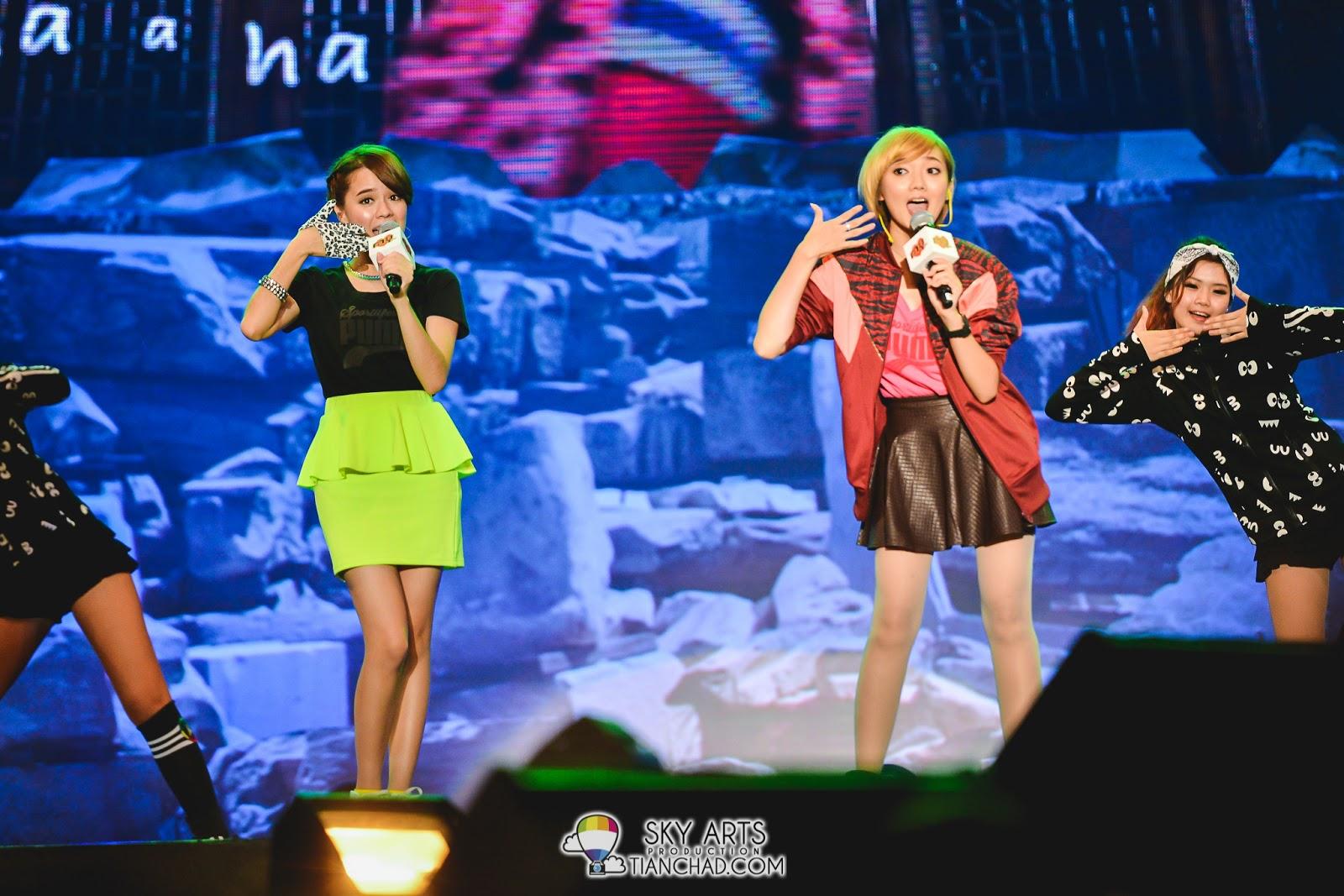 Fyone陈慧莹 & Stephanie刘佩芯 - Jo-A-Hae *表演不错,不过vocal要再加强些*