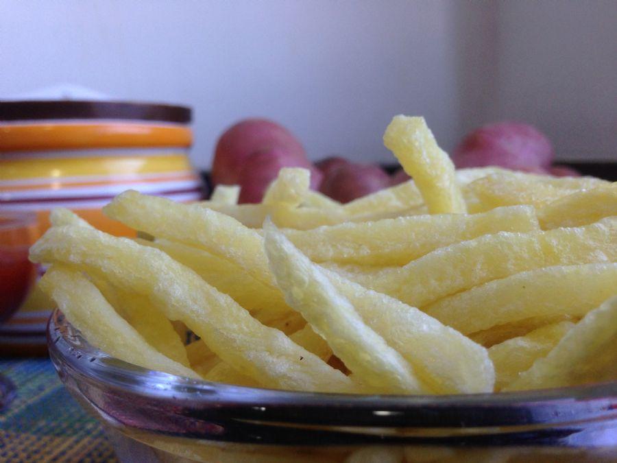 Receita de Batata Frita Crocante de Lanchonete