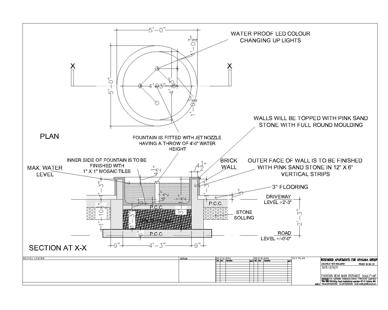 Sanidhya design landscape details for Time saver details for exterior wall design