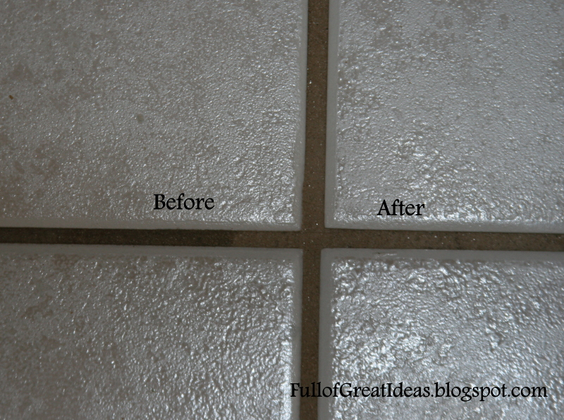Clean Kitchen Tile Grout Emiliesbeauty