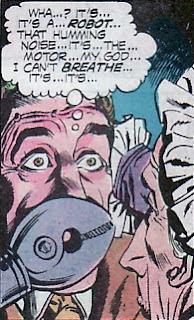 Black Orchid robot, Nestor Redondo, Phantom Stranger #36