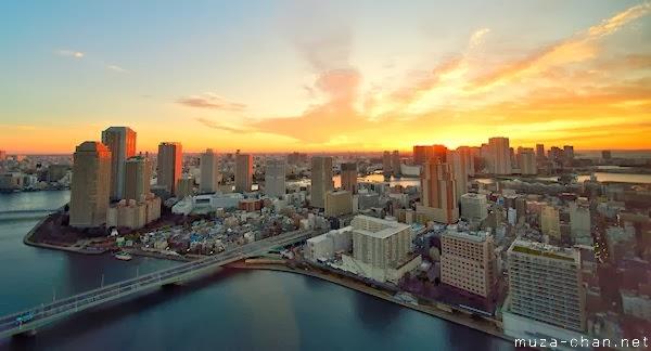 Indahnya Matahari Terbit di Jepang, Sunrise Tsukishima.