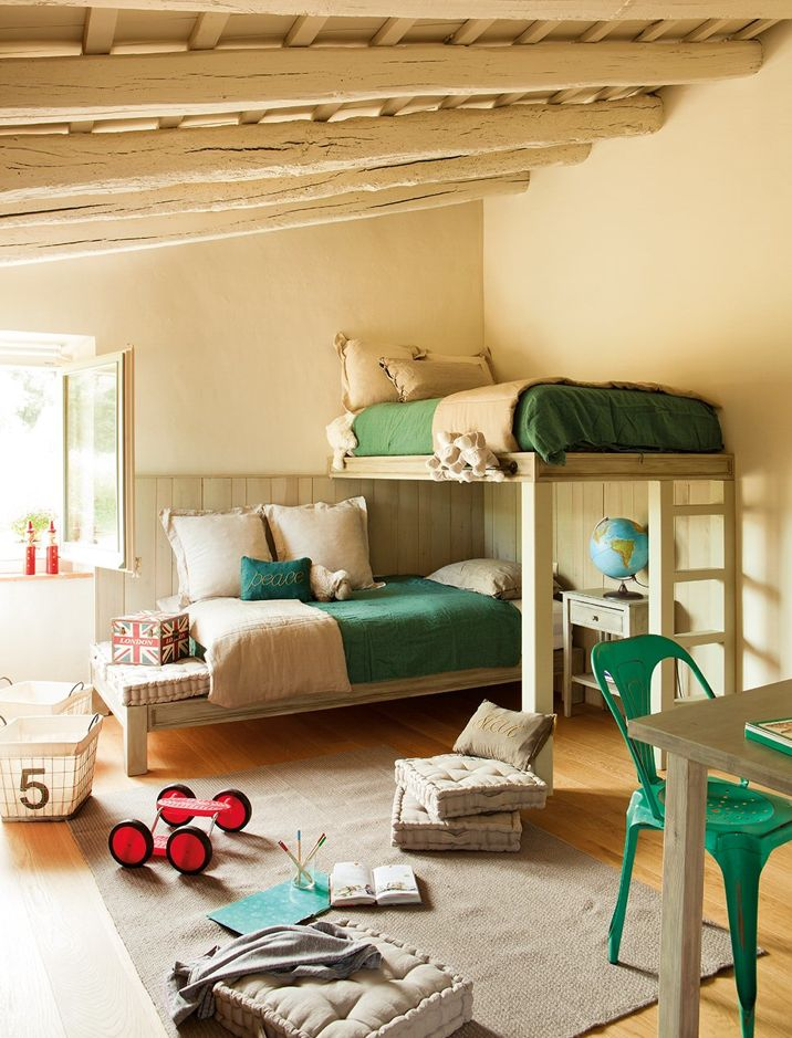 ... arredare interni ed esterni della casa: LETTI A CASTELLO SHABBY CHIC