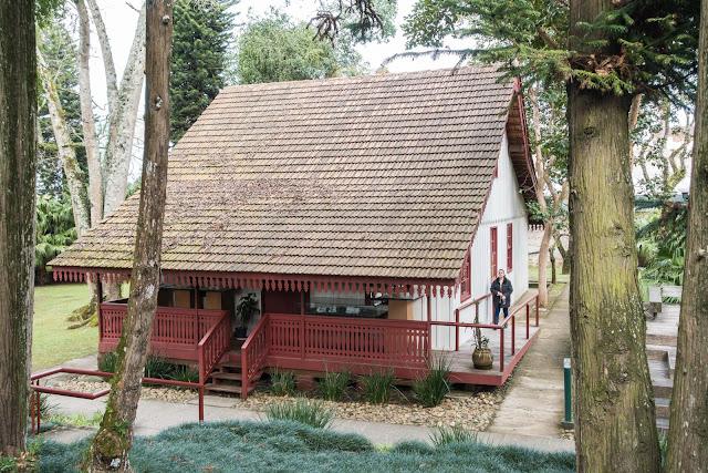 Casa de madeira no IPPUC