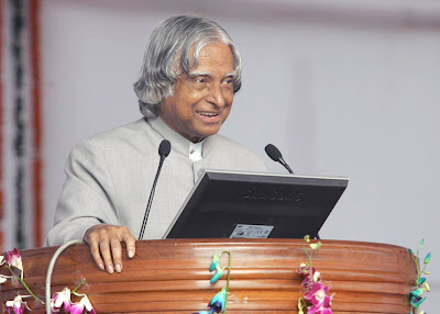 Dr APJ Abdul Kalam addressed the top performing MPs