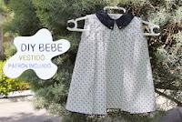 Девушка платье узор якоря