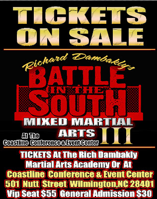 Photo of Wilmington NC Battle In The South Event Flyer