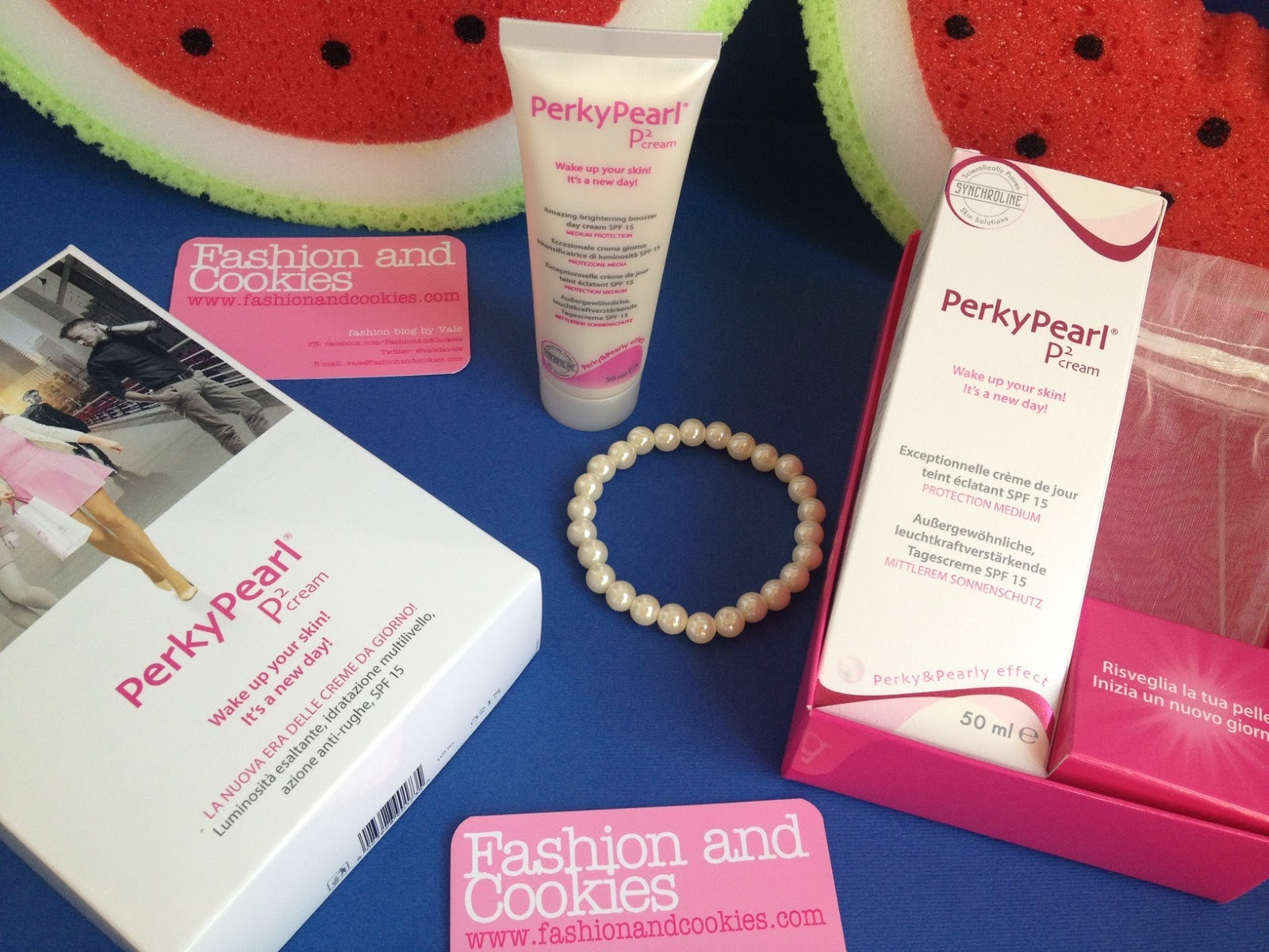 Perky Pearl day cream on Fashion and Cookies fashion and beauty blog