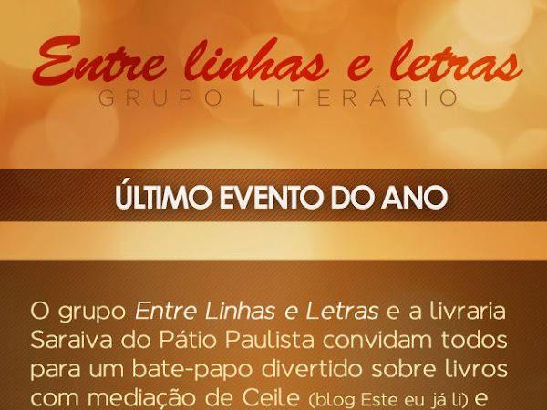 Evento do Entre Linhas e Letras e Saraiva do Pátio Paulista em São Paulo