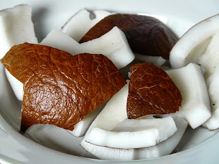 comida hecha en casa con leche de coco