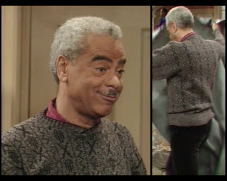 Cosby Show Huxtable fashion blog 80s sitcom Russell Earle Hyman