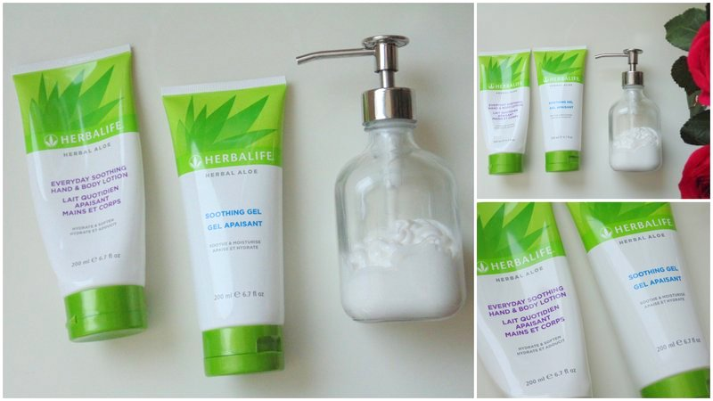 Review: Herbalife Body Lotion & Soothing Gel