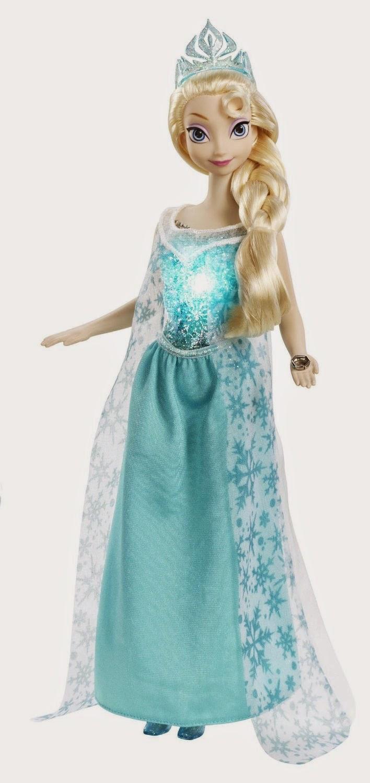 JUGUETES - PRINCESAS DISNEY   Muñeca Elsa Música Mágica : Frozen  Producto Oficial | Musical Magic Elsa | Mattel  A partir de 3 años