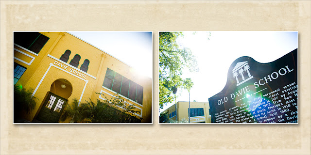 Old Davie School Sign