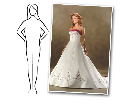 Distinct event planning searching for the perfect wedding for Wedding dresses for larger figures