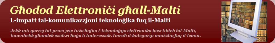 <i>Għodod Elettroniċi għall-Malti</i>