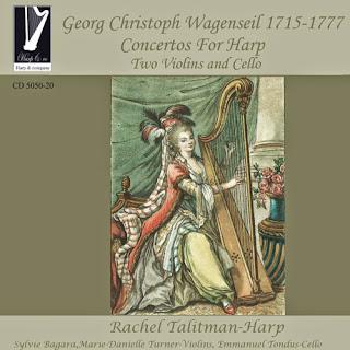 Wagenseil: Concertos for Harp