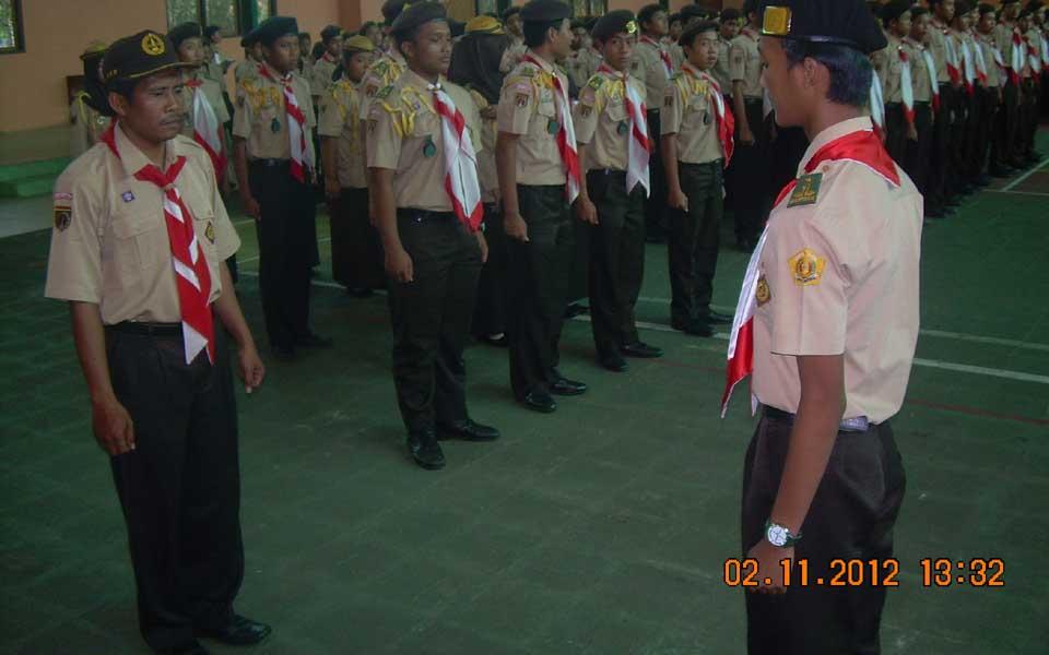 Dilaksanakan di dalam Indor SMA Negeri Banyumas